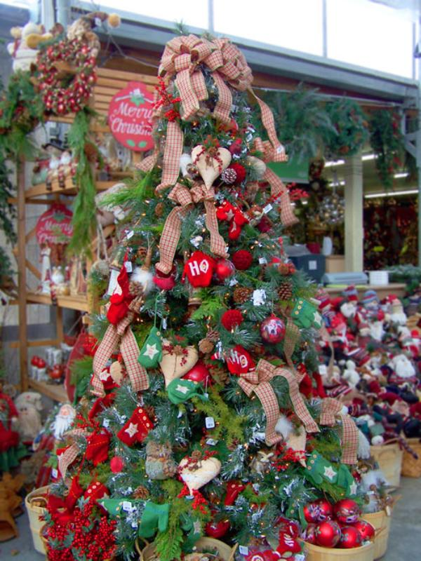 Christmas Tree Decorating Styles : Top christmas tree deorating ideas