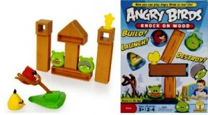 4. Angry Birds Knock on Wood