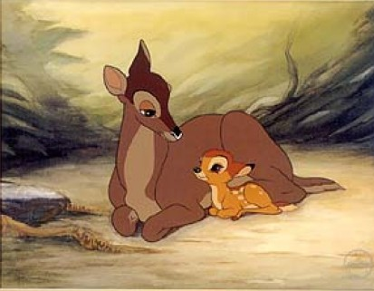 Bambi's Mother Dies