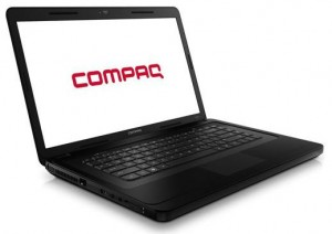 HP Compaq Black 15.6 Laptop