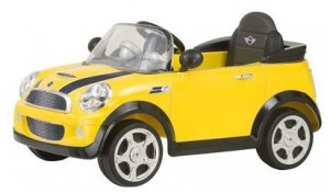 Mini Cooper Battery Powered Ride-on Car