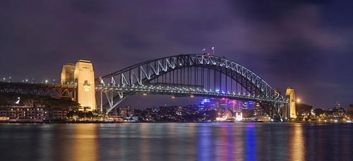 New Year Celebrations in Sydney Harbour, Australia
