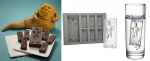 Star Wars Hans Solo Ice Cube Tray