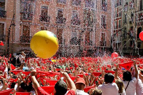 The Festival of San Fermin, Spain