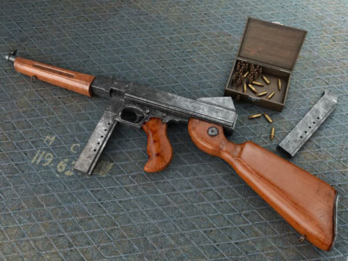 Thompson M1921 Submachine Gun