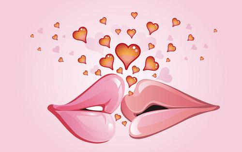 10 kissing