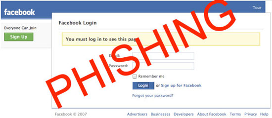 7. Never Fill In The Fake Login Screens