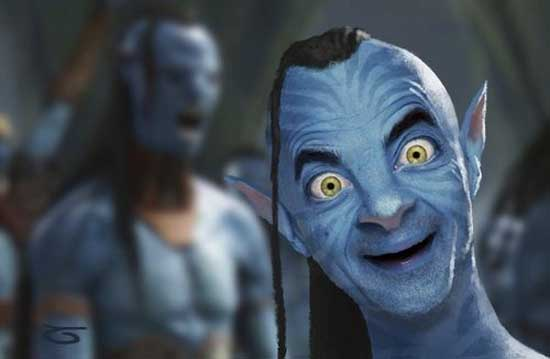 Mr. Bean as Avatar-01