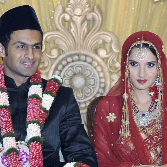 Sporty Wedding of Shoaib Malik and Sania Mirza-09