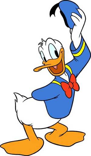 2. Donald Duck