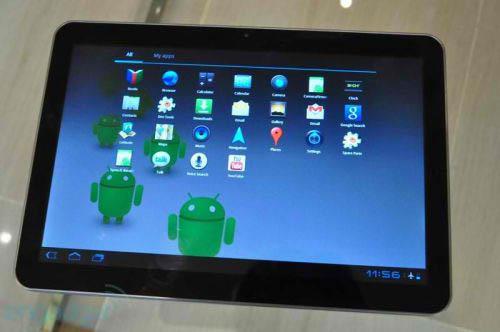 2. Samsung Galaxy Tab 10.1