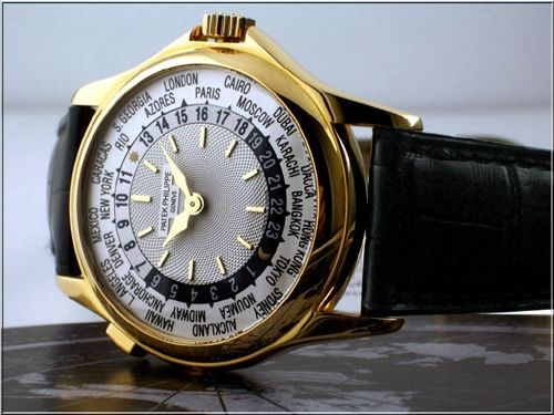 3-Patek Philippe's Platinum World Time ($ 4 million)