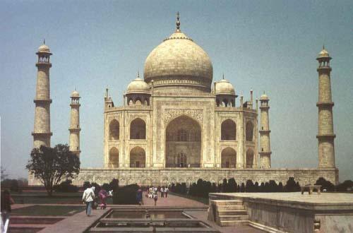 4. Taj Mahal India