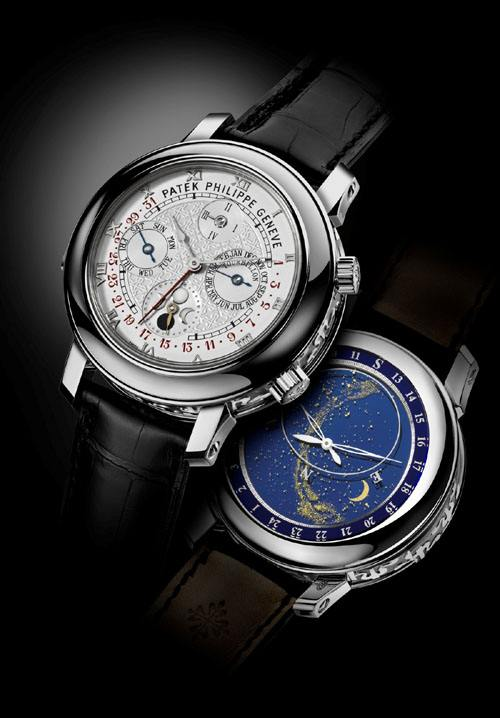 5-Patek Philippe Sky Moon Tourbillon ($ 1.3 million)