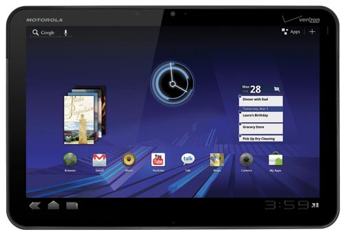 6. Motorola Xoom