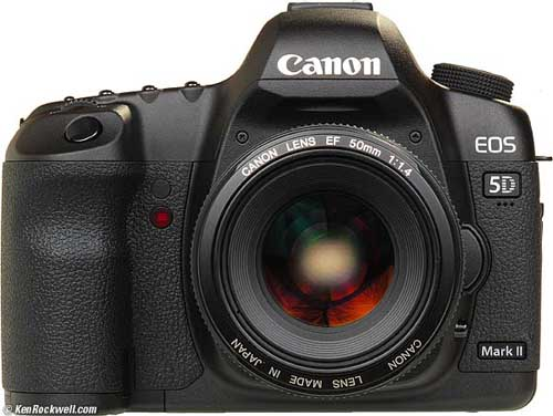 7. CANON EOS 5D Mark II