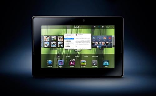 8. Blackberry Playbook