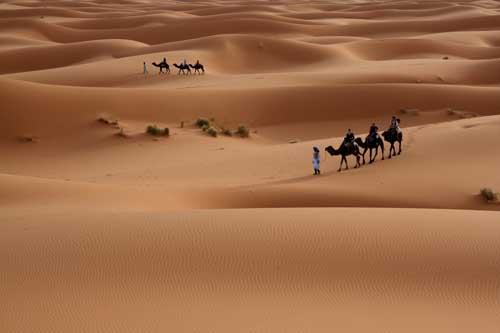 9. Sahara Desert Africa