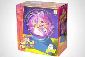 Hamster Time alarm clock