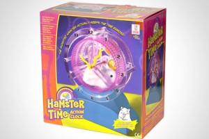 Hamster Time alarm clock
