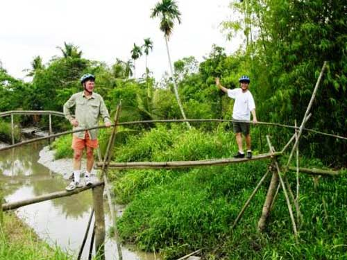 Monkey Bridges in Vietnam-07