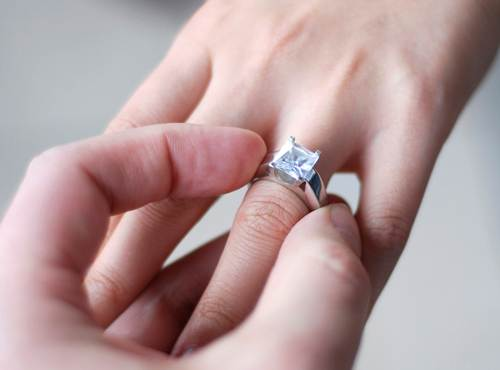 Engagement ring myth