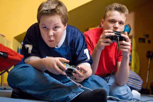 Video games addiction