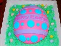 1. Easter Egg Cake