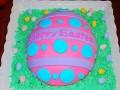 1. Easter Egg Cake