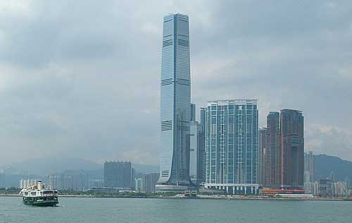 10. International Commerce Centre (Hong Kong)