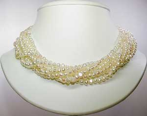 3. Fresh Water Pearl necklace