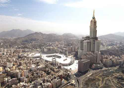 3. Tower of Abraj Al Bait (Saudi Arabia)