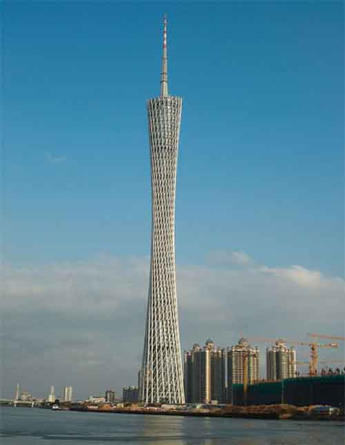 4. Canton Tower (China)