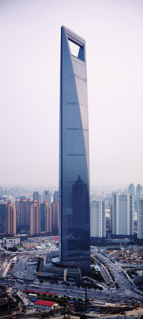 9. Shanghai World Financial Centre (China)