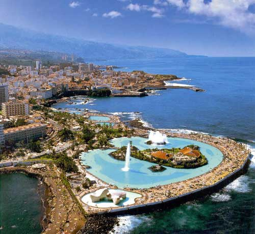 The Island of Tenerife, Spain