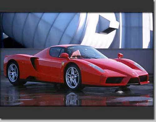 ferrari enzo - Top 10 Fast Cars In The World 2012