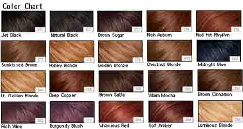 10. Different Hair Colors
