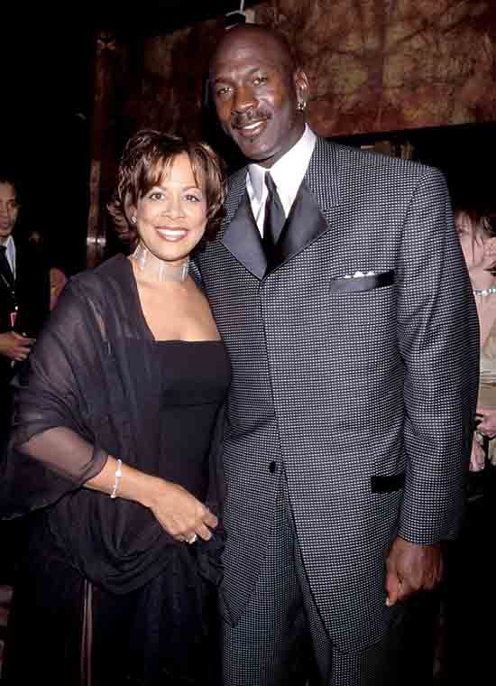 2. Michael Jordan and Juanita Jordan
