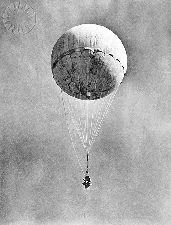 3. Japanese Balloon Bombs
