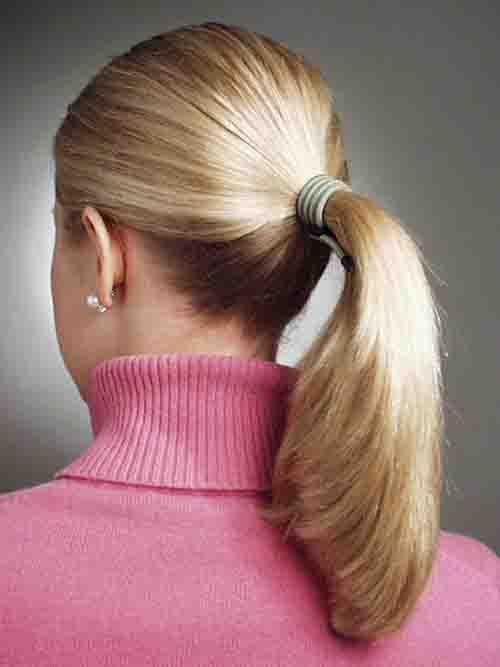 3. Making a Pony Tail