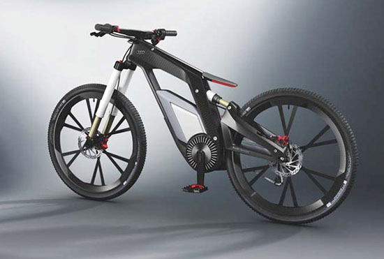 4. Audi Electric Bike