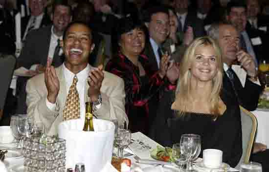 5. Tiger Woods and Elin Nordegren