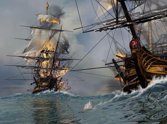 6. Fire Ships