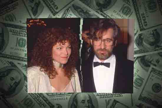 6. Steven Spielberg and Amy Irving