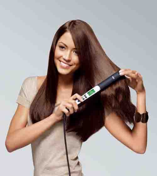 7. Using a Straightener