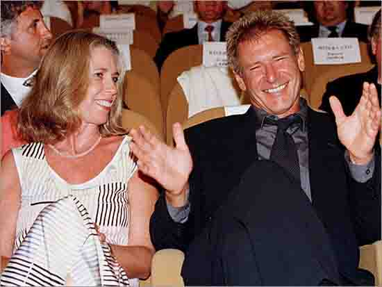8. Harrison Ford and Melissa Mathison