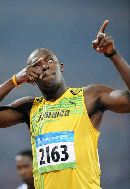 8. Usain Bolt (Jamaica) Sprints