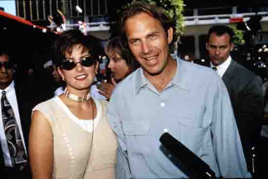 9 Kevin Costner and Cindy Silva