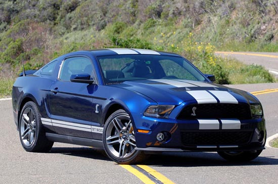 9. Ford Shelby GT500