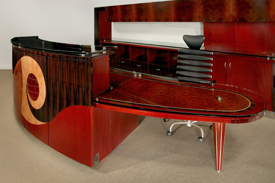 7. Parnian Furniture Desk-$200,000